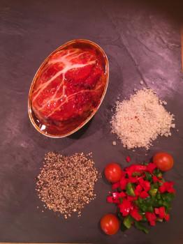 Terrine pâté italien