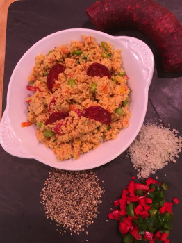 Taboulé Chorizo Légumes